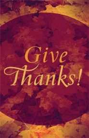 Give Thanks! Pack of 25