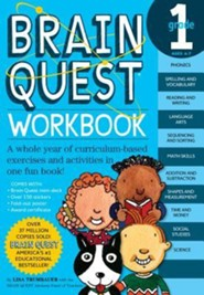 Brain Quest Grade 1 Workbook [With Stickers]