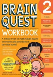 Brain Quest Grade 2 Workbook [With Stickers]
