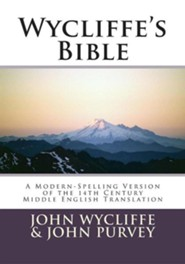 Wycliffe's Bible, Paper