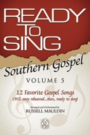 Ready to Sing Southern Gospel, Volume 5   -