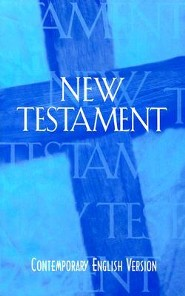 Outreach New Testament-Cev, Paper, Blue