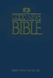 Good News Bible, Paper, Blue