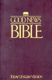 TEV Good News Bible, Paper, Maroon