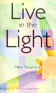 Live in the Light New Testament-CEV, Paper, Multi-Colored