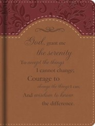 Serenity Prayer Journal, Deluxe edition