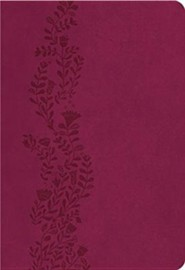 NKJV Ultraslim Bible Imitation Leather, Cranberry  -