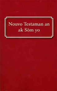 Haitian New Testament with Psalms-FL, Paper, Red