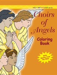 Choir of Angels Coloring Book