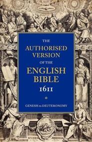 KJV 1611 Bible: Volume 1: Genesis to Deuteronomy, Paper