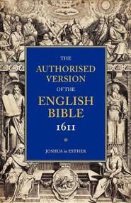 KJV 1611 Bible: Volume 2: Joshua to Esther, Paper