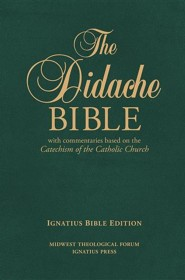 RSV Didache Bible with Commentaries Based on the RC Cathechism Premium Bonded Leather