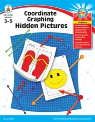 Coordinate Graphing Hidden Pictures Grades 3-5
