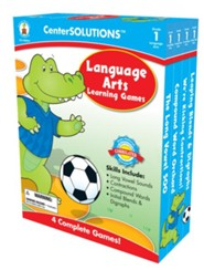 Center Solutions: Language Arts Learning Games Grade 1