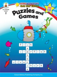 Puzzles and Games Grade 2  -