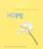 Hope: It's More Than Wishful Thinking  -     Edited By: Amy Lyles Wilson     By: Amy Lyles Wilson(Ed.)