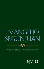 Evangelios NVI de Juan, verde, NVI Pocket Gospel of John--softcover, green
