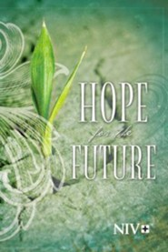 NIV Hope for the Future New Testament, Question Edition--softcover, green