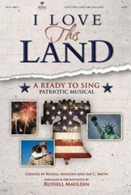 I Love This Land: A Ready to Sing Patriotic Musical (Split-Track Accompaniment DVD)  -