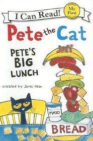 Pete the Cat: Pete's Big Lunch, Softcover  -     