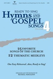Ready to Sing Hymns and Gospel Songs V4 Tenor Rehearsal CD
