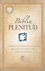 Biblia Plenitud = Spirit-Filled Life Bible, Leather, Black, Thumb Index  -              By: Editorial Caribe