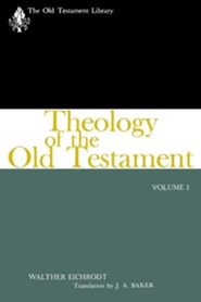 Theology of the Old Testament, Volume One  -     