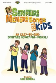 Scripture Memory Songs for Kids Split Track CD