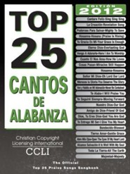 Top 25 Cantos De Alabanza Songbook   -