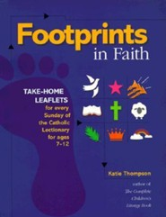 Footprints in Faith: Take-Home Leaflets for Ages 7-12