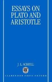 Essays on Plato and Aristotle