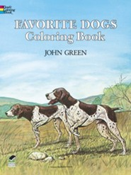 Favorite Dogs Coloring Book  -              By: John Green, Soren Robertson