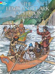 The Lewis and Clark Expedition Coloring Book  -     By: Peter F. Copeland &  Coloring Books
