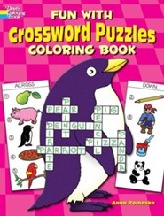 Fun with Crossword Puzzles Coloring Book  -              By: Anna Pomaska