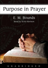 Purpose in Prayer Unabridged Audiobook on MP3-CD
