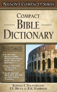 Nelsons Compact Bible Dictionary, Paper
