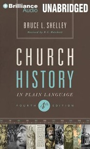 Church History in Plain Language: Fourth Edition - unabridged audiobook on MP3  -     By: Bruce Shelley