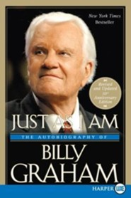 Just as I Am: The Autobiography of Billy Graham, Edition 0010 Anniversary