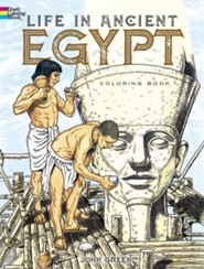 Life in Ancient Egypt Coloring Book  -              By: John Green, Stanley Appelbaum