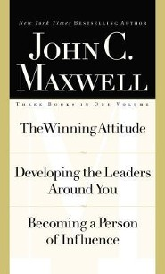 Maxwell 3-In1 Special Edition: The Winning Attitude, Developing the Leaders Around You, Becoming a Person of Influence - Slightly Imperfect