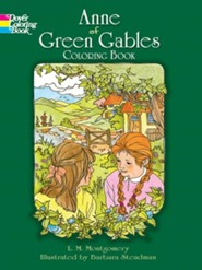 Anne of Green Gables Coloring Book  -     By: L.M. Montgomery