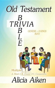 Old Testament Bible Trivia Genesis-II Kings Multiple Choice, Paper