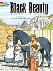 Black Beauty Coloring Book  -     By: Anna Sewell, John Green