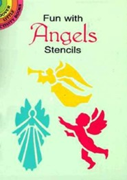 Fun with Angels Stencils  -     By: Paul E. Kennedy