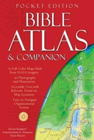 Bible Atlas & Companion: Pocket Edition  -              By: Christopher Hudson, David Barrett