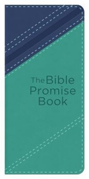 Bible Promise Book, Blue and Teal, KJV      -