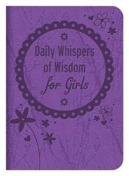 Daily Whispers of Wisdom for Girls  -