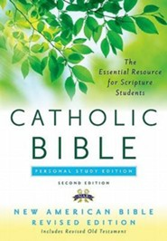 The New American Bible, Catholic Study, Personal,  Second Edition