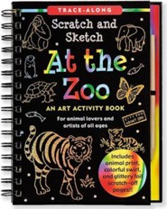 At the Zoo: An Art Activity Book for Animal Lovers and Artists of All Ages [With Wooden Stylus]  -     By: Peter Pauper Press