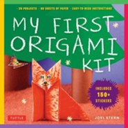 My First Origami Kit: 20 Kid-Tested Sticker Fun Projects